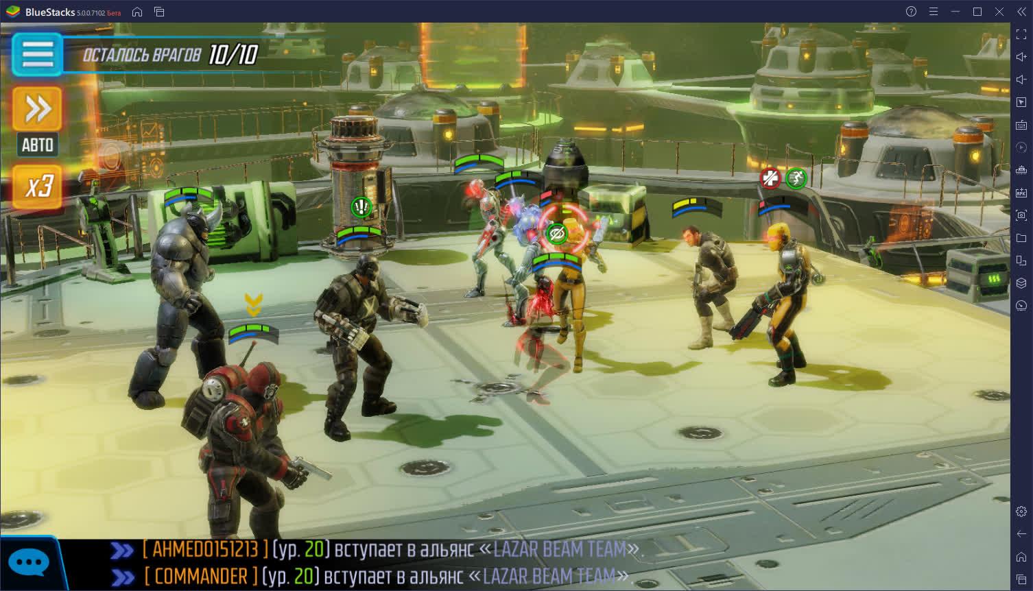 Разбор боевой системы и советы по игре в MARVEL Strike Force