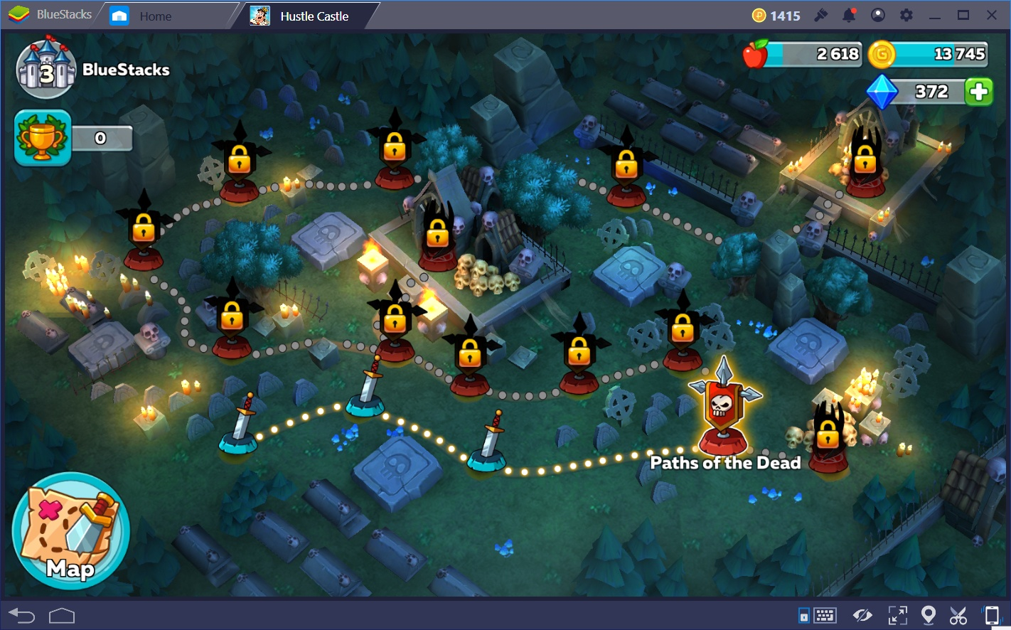 Progressing Through Hustle Castle: Fantasy Kingdom