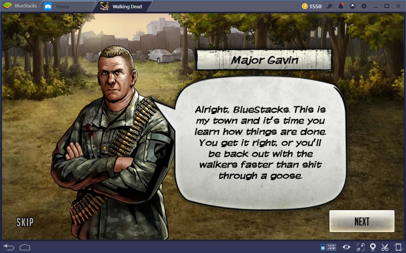Town Management in The Walking Dead: Road To Survival