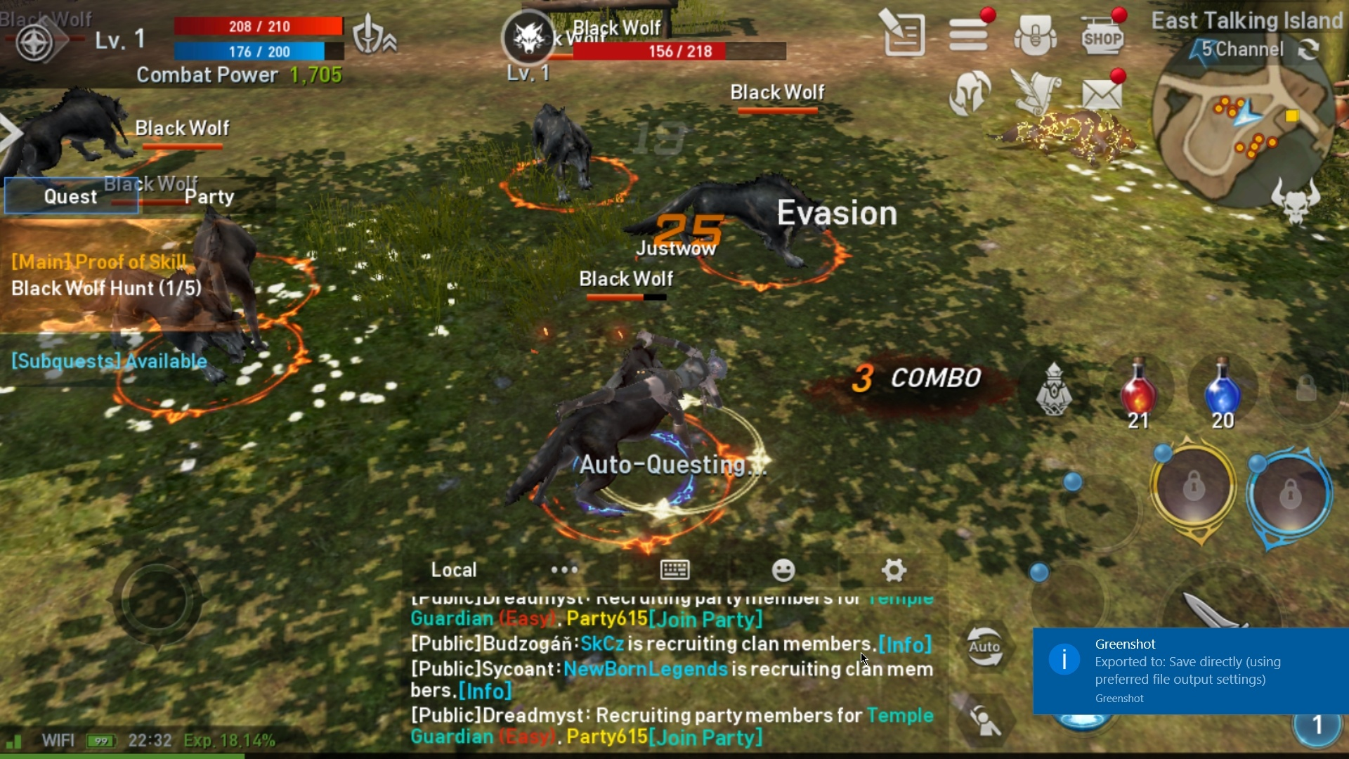Lineage 2 Revolution Layout and UI