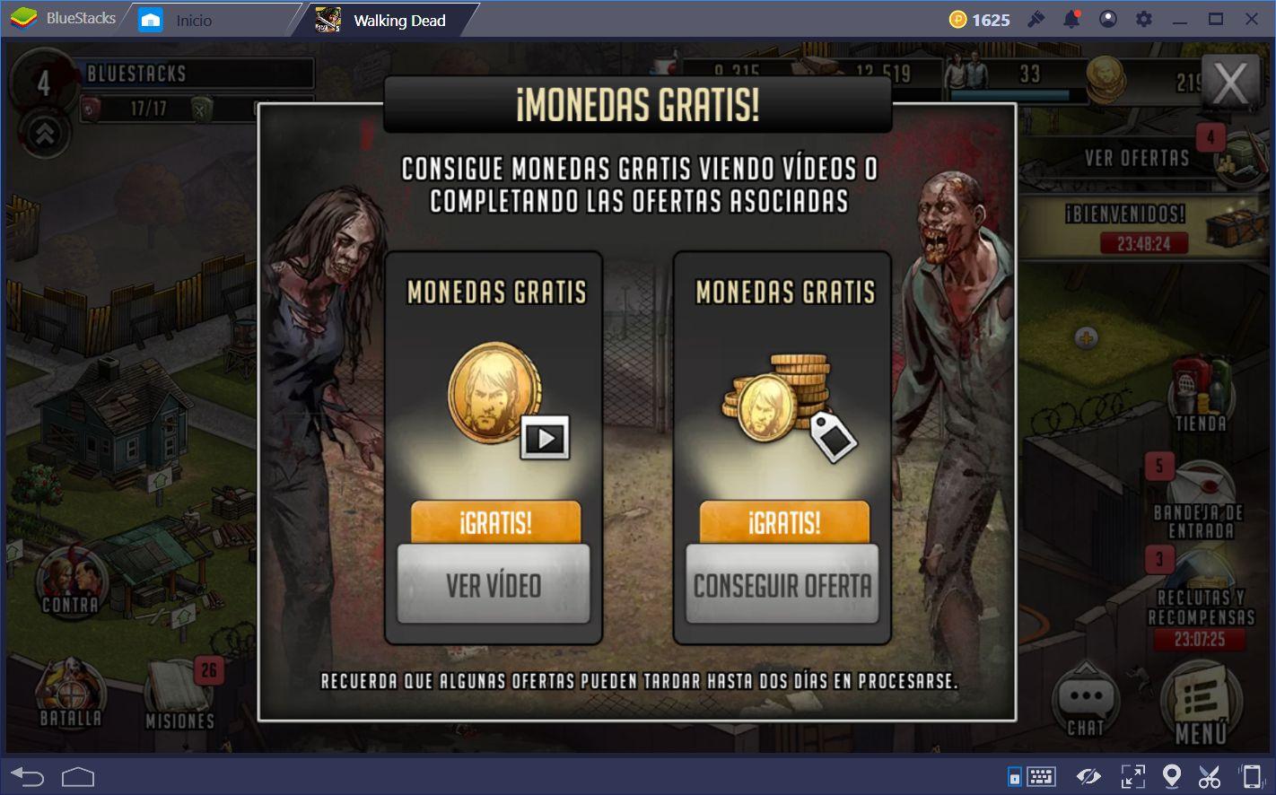 Haciendo Progreso en The Walking Dead: Road to Survival