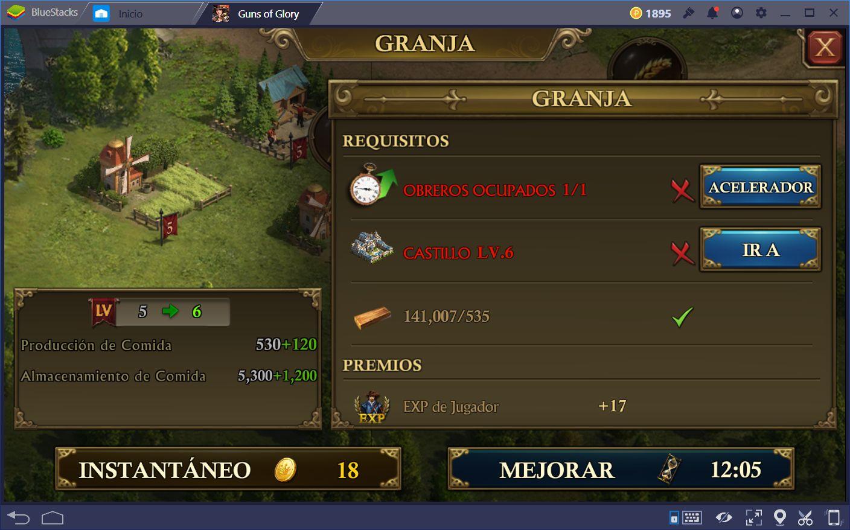 Cómo Construir Una Nación Eficiente en Guns of Glory Pt. 2