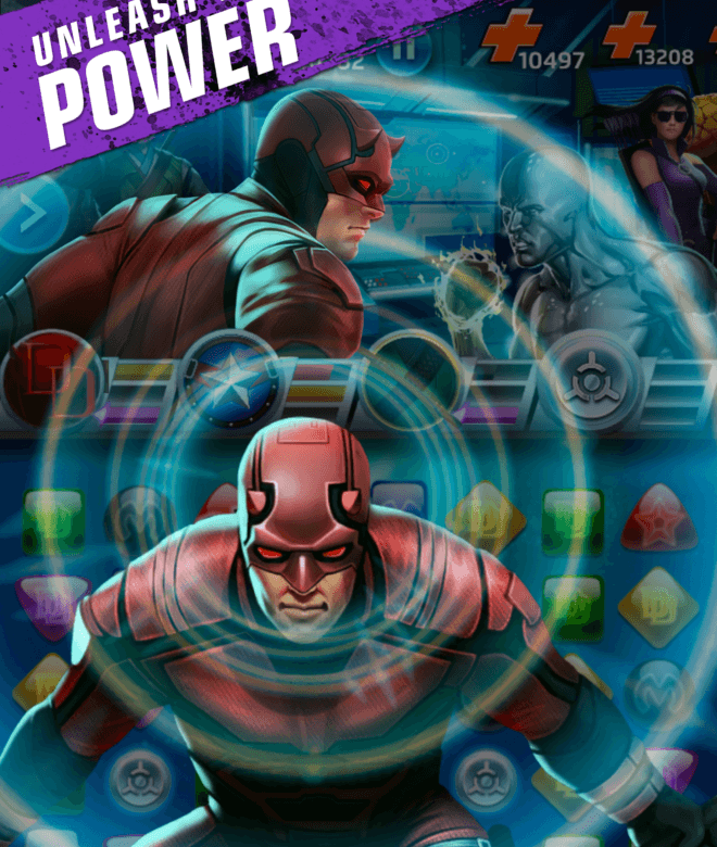 Играй Marvel Puzzle Quest На ПК 12