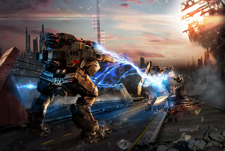 War Robots: карты, часть 1