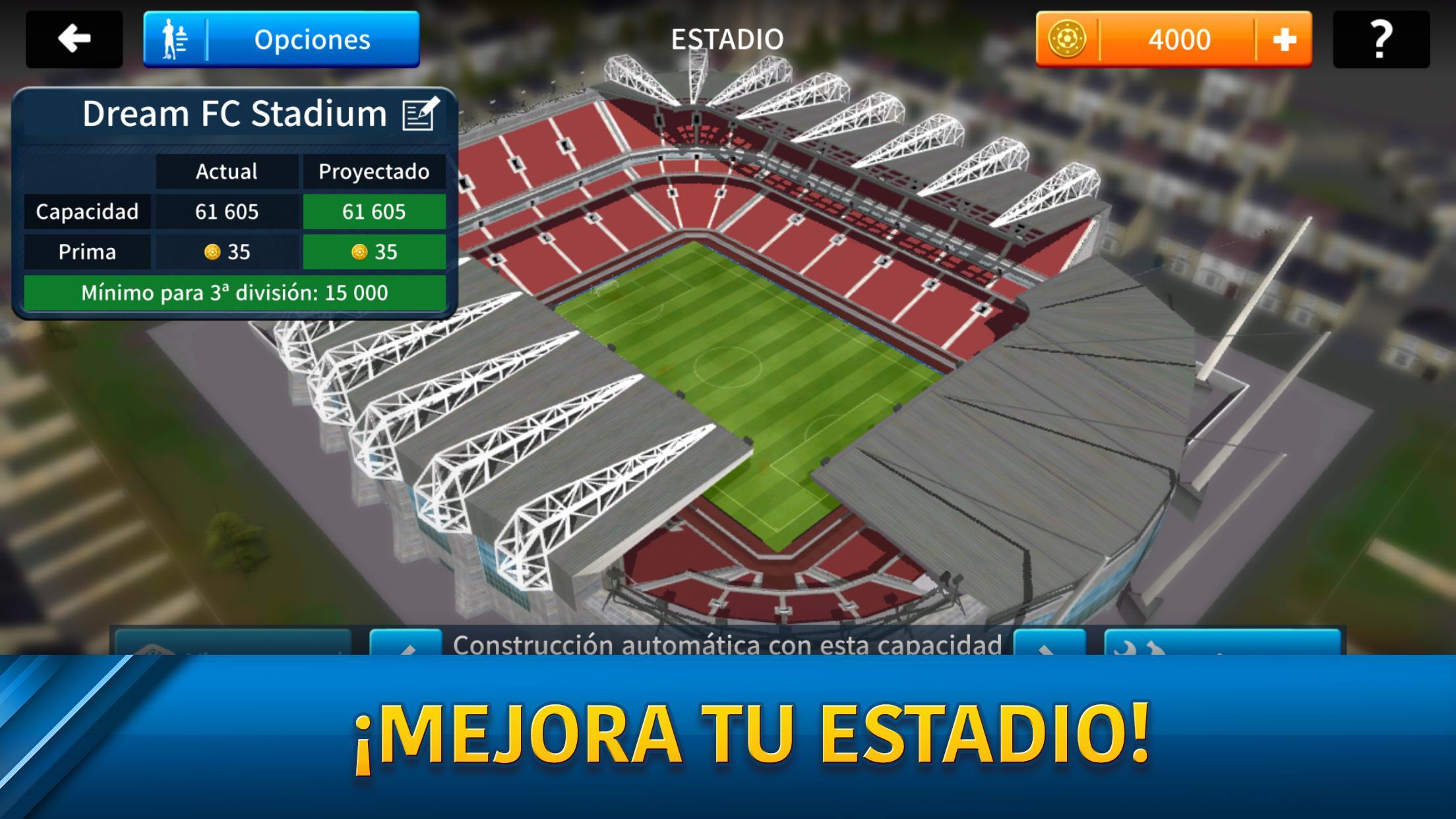 Dream League Soccer 2019 en PC con BlueStacks, el emulador