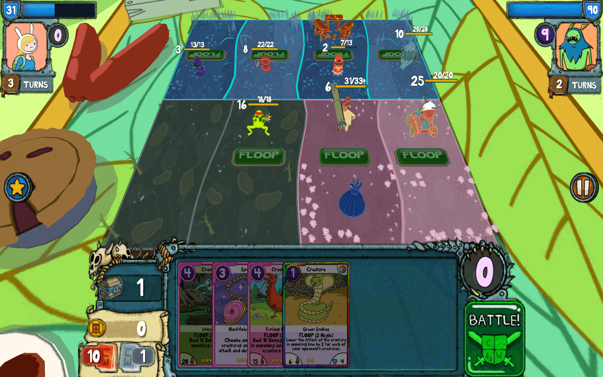 Adventure Time Card Wars for PC – Windows/MAC OS Full Version