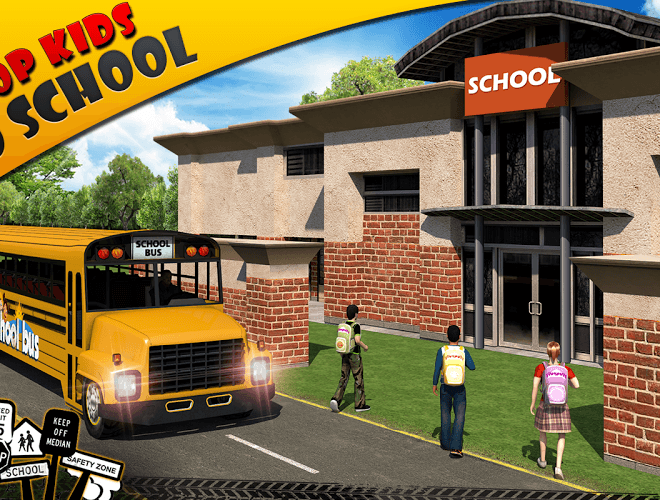 Play School bus Driver 3D on PC 8