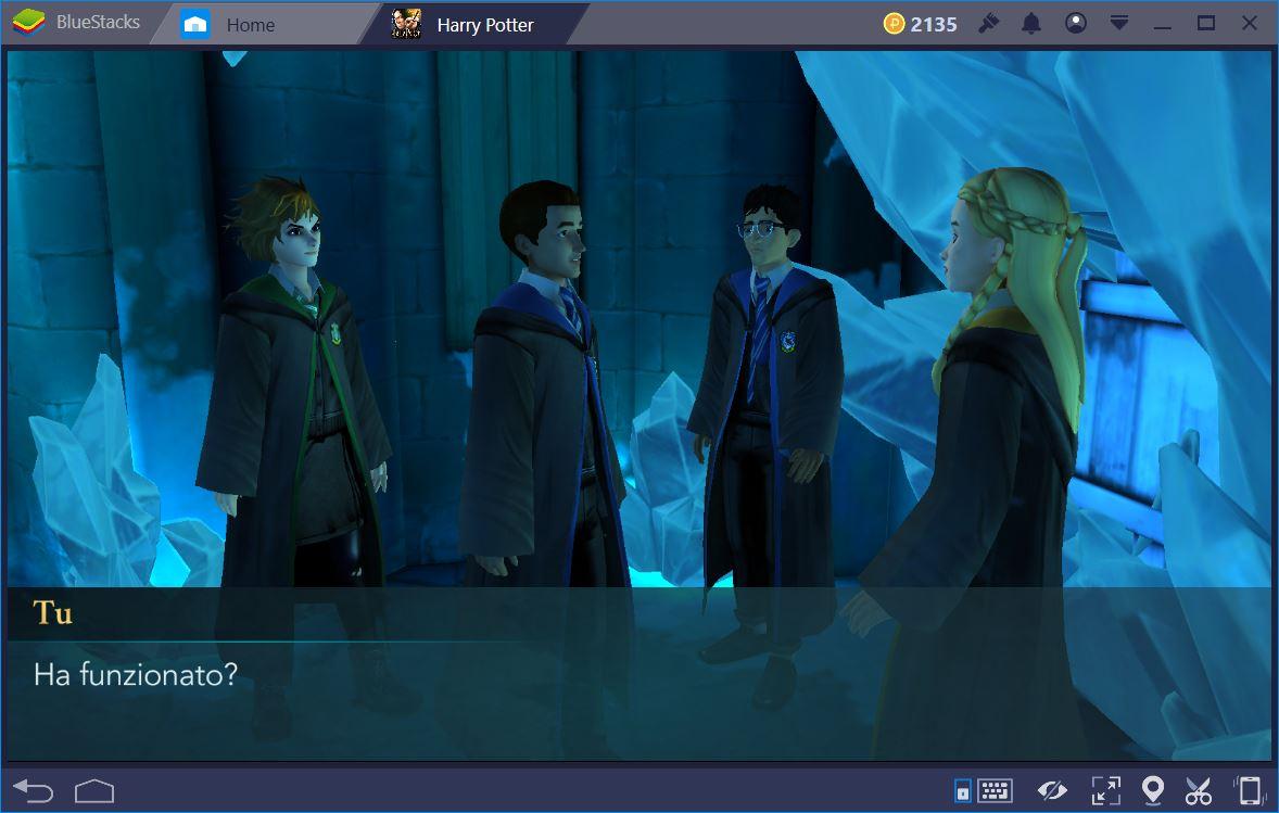 Harry Potter Hogwarts Mystery: Guida alle Interazioni e Amicizie
