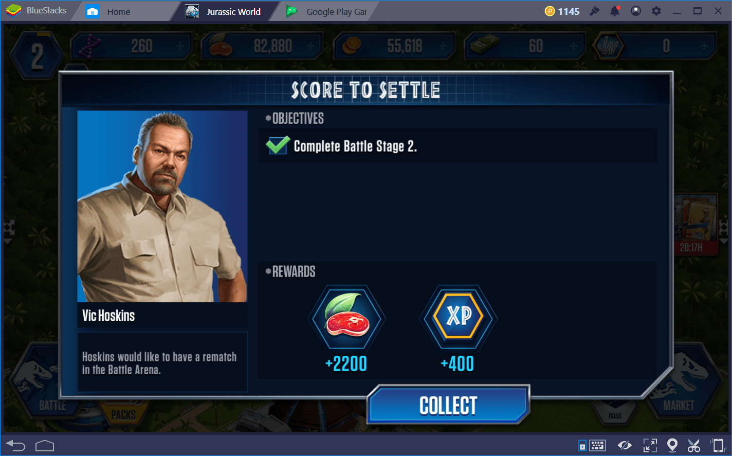 Getting Started in Jurassic World: The Game