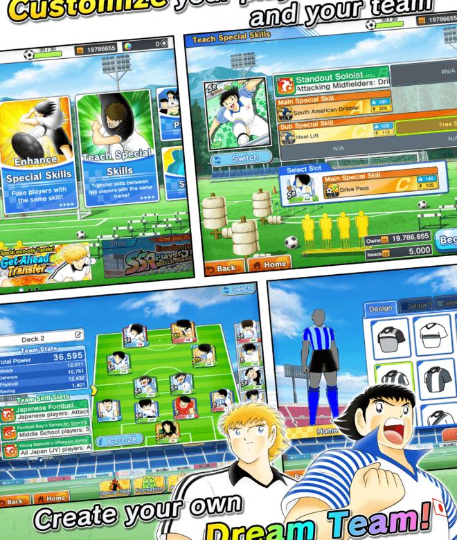 Chơi Captain Tsubasa: Dream Team on PC 14