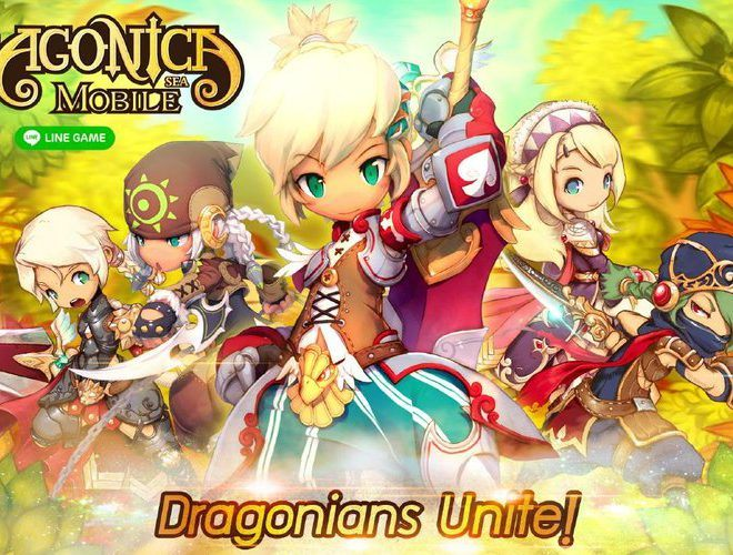 เล่น LINE Dragonica Mobile on PC 8