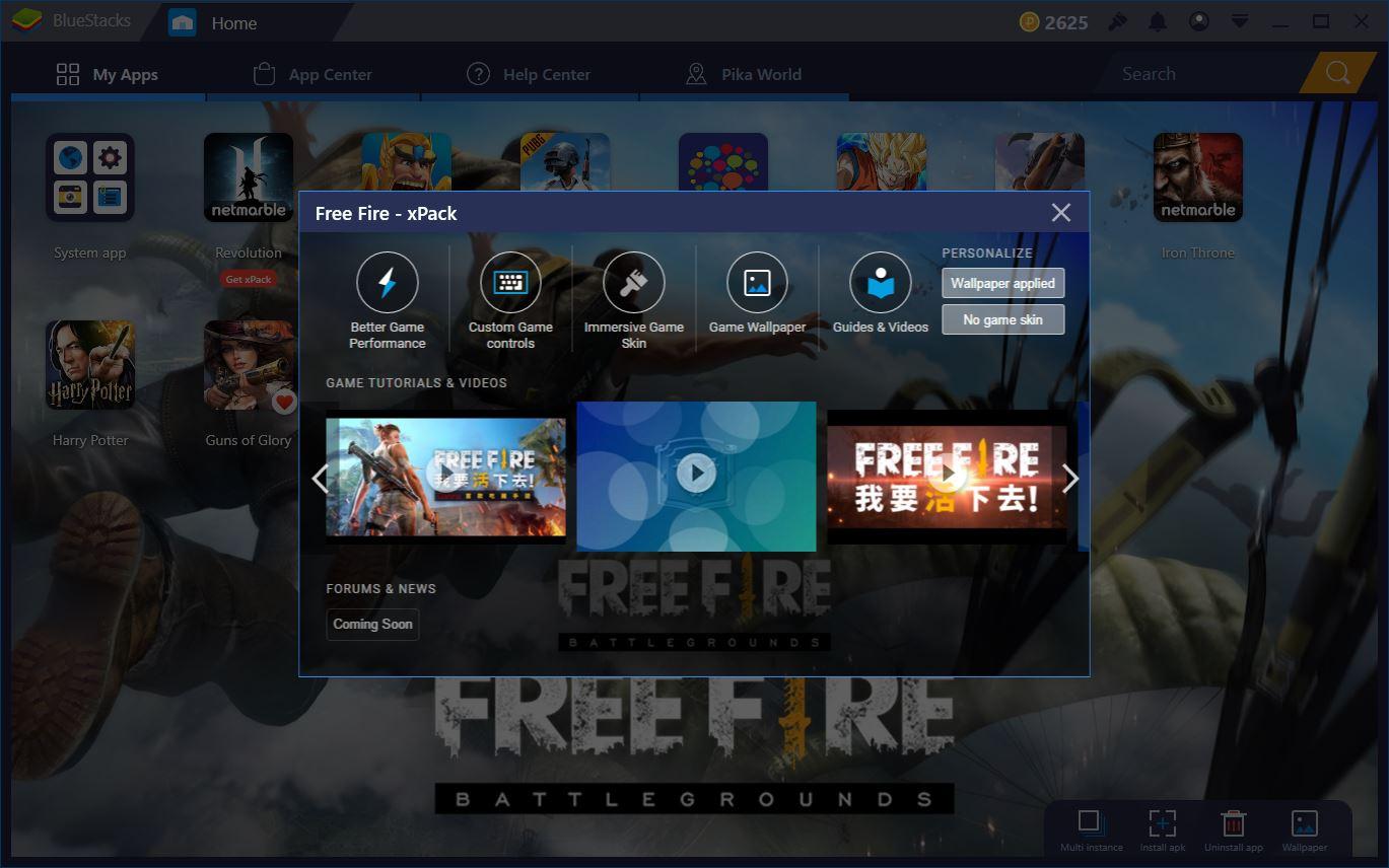 Free Fire: Come giocare con mouse e tastiera