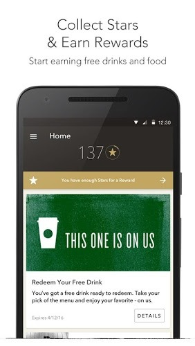 Play Starbucks app on pc 2