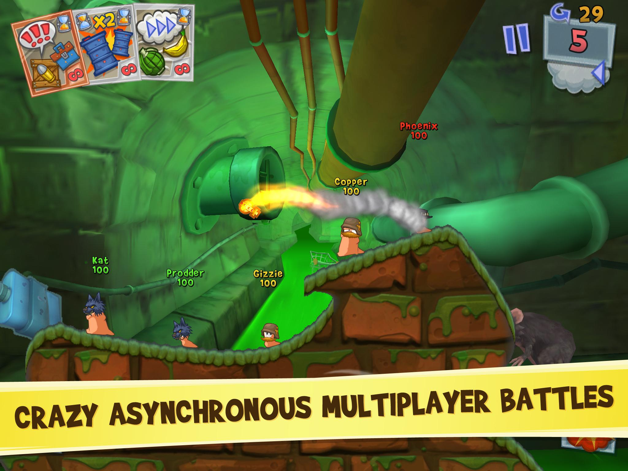 Download Worms 3 on PC with BlueStacks