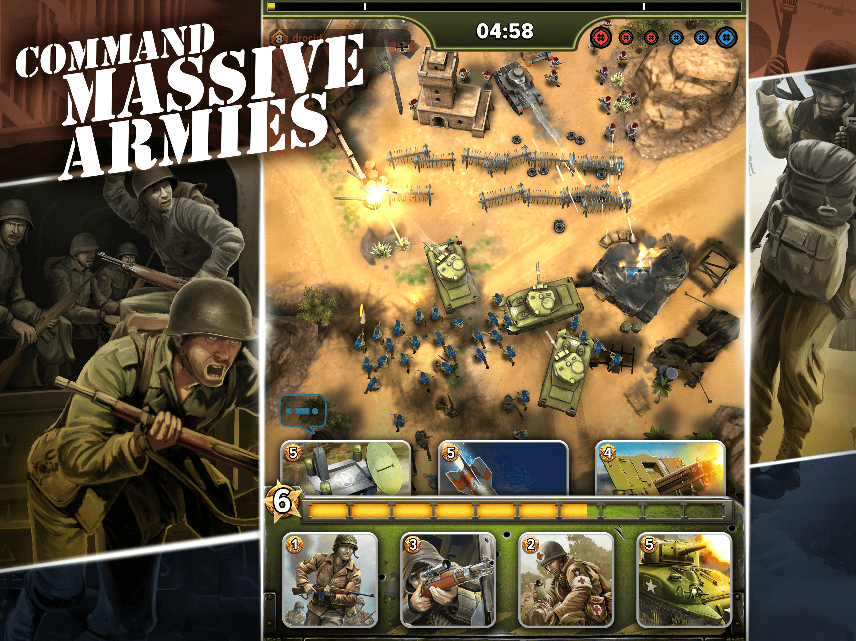 Download Siege: World War II on PC with BlueStacks