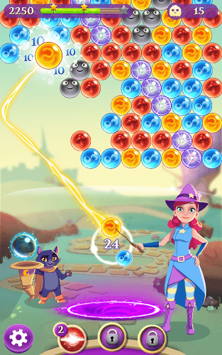 Chơi Bubble Witch 3 Saga on PC 8