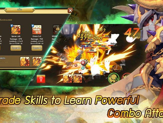 เล่น LINE Dragonica Mobile on PC 6