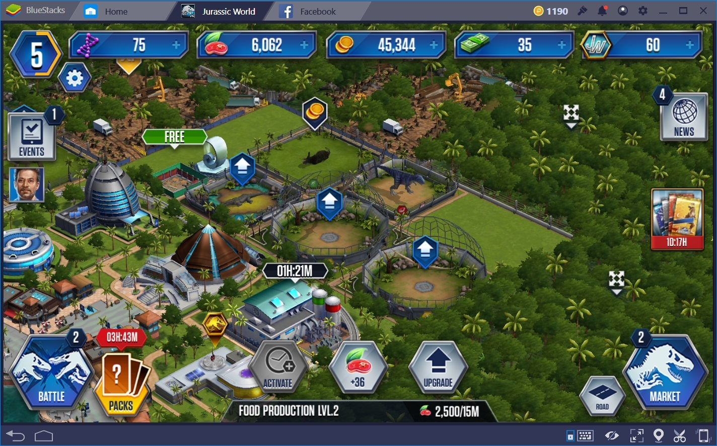 Guide To Managing Resources and Improving Park Economy in Jurassic World: The Game