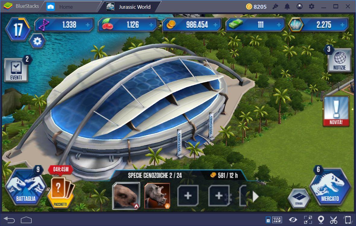 Jurassic World Il Gioco: I Migliori Dinosauri