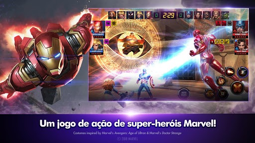 Jogue MARVEL Future Fight para PC 12