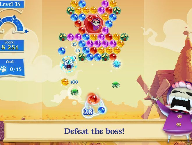 เล่น Bubble Witch Saga 2 on PC 10