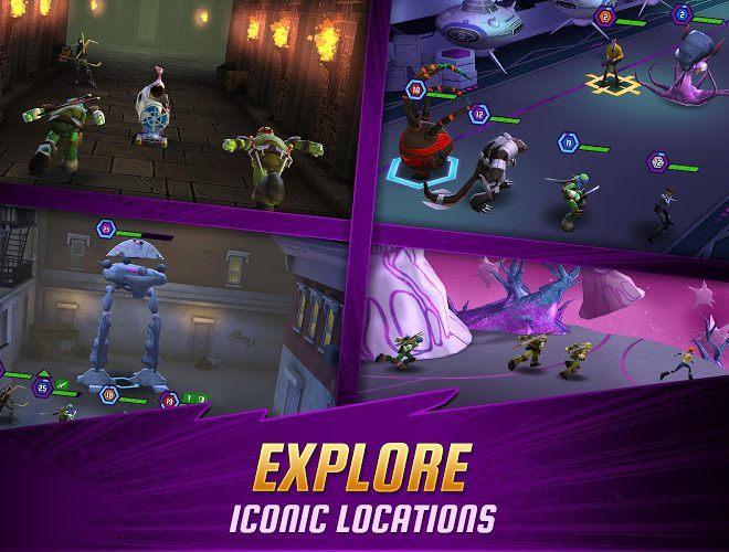 Chơi Ninja Turtles: Legends on PC 5