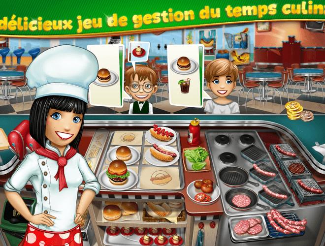 Jouez à  Cooking Fever sur PC 3