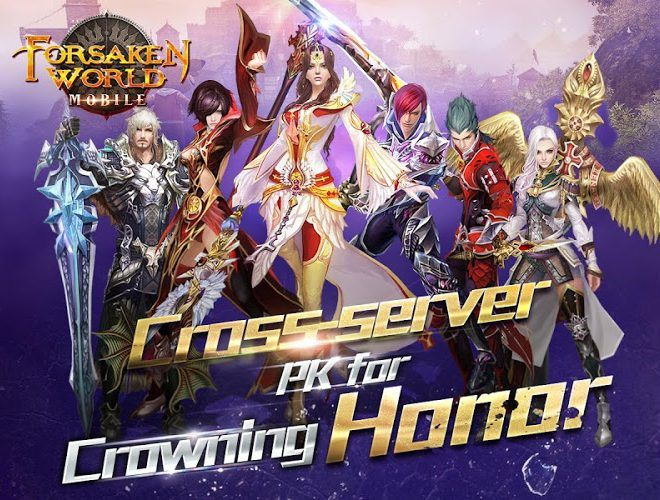 Play Forsaken World Mobile MMORPG on PC 3