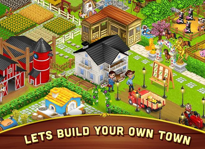 เล่น ฟาร์มขนาดใหญ่เล็ก ๆ น้อย ๆ on PC 6