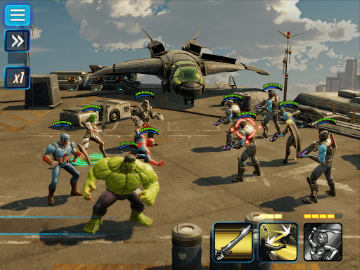 marvel strike force on pc