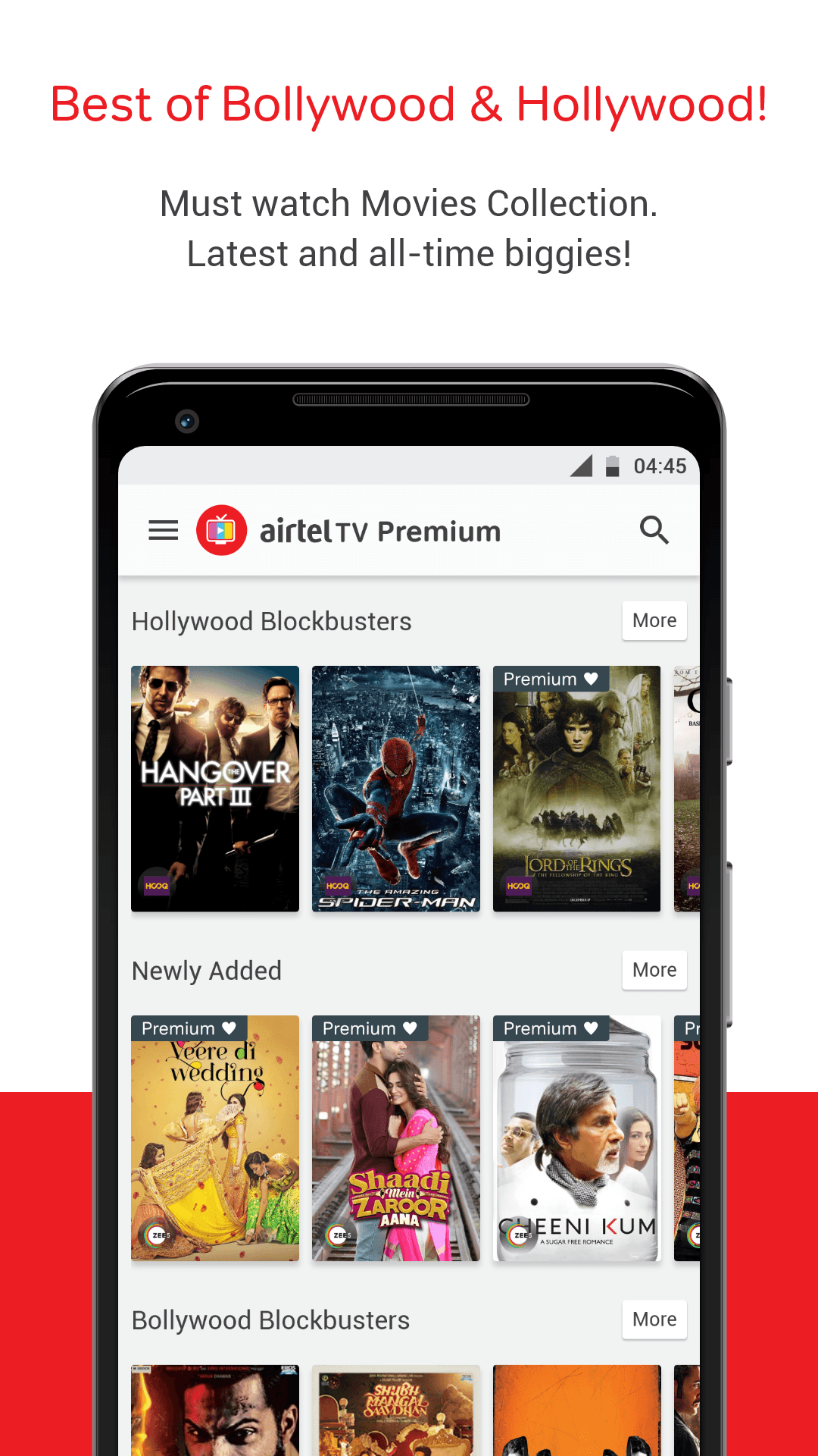 Download Airtel TV: Movies, TV series, Live Aus vs India on PC with