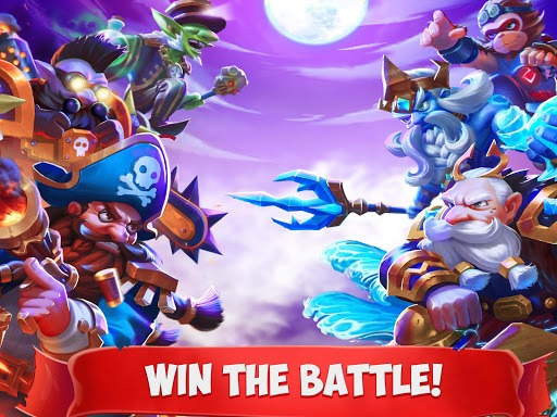 Play Epic Summoners: Battle Hero Warriors – Action RPG on PC 5