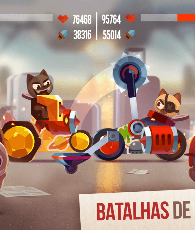 Jogue CATS: Crash Arena Turbo Stars para PC 7