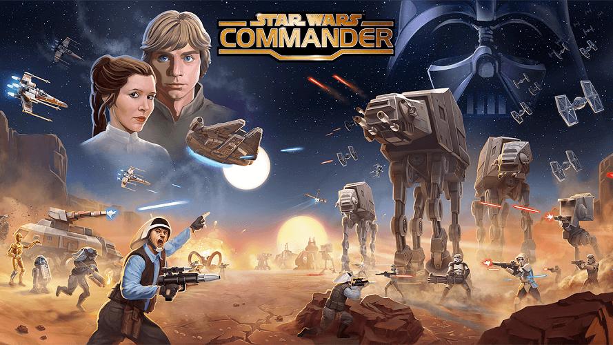 Jouez à  Star Wars Commander sur PC 3