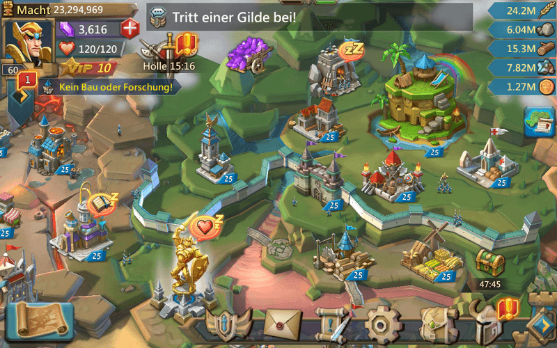 Spiele Lords Mobile auf PC 14