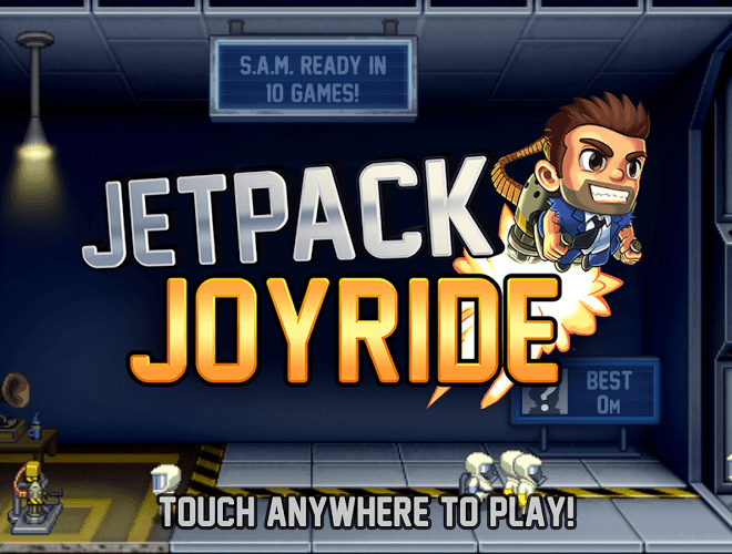 Spustit Jetpack Joyride on PC 12