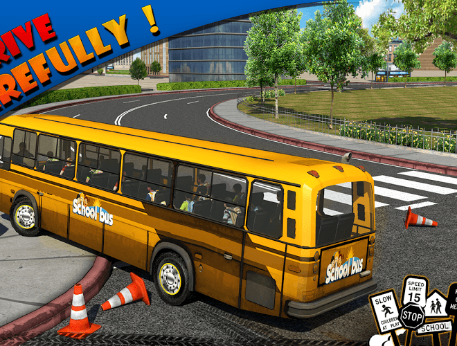 Play School bus Driver 3D on PC 9