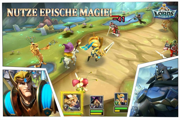 Spiele Lords Mobile auf PC 12