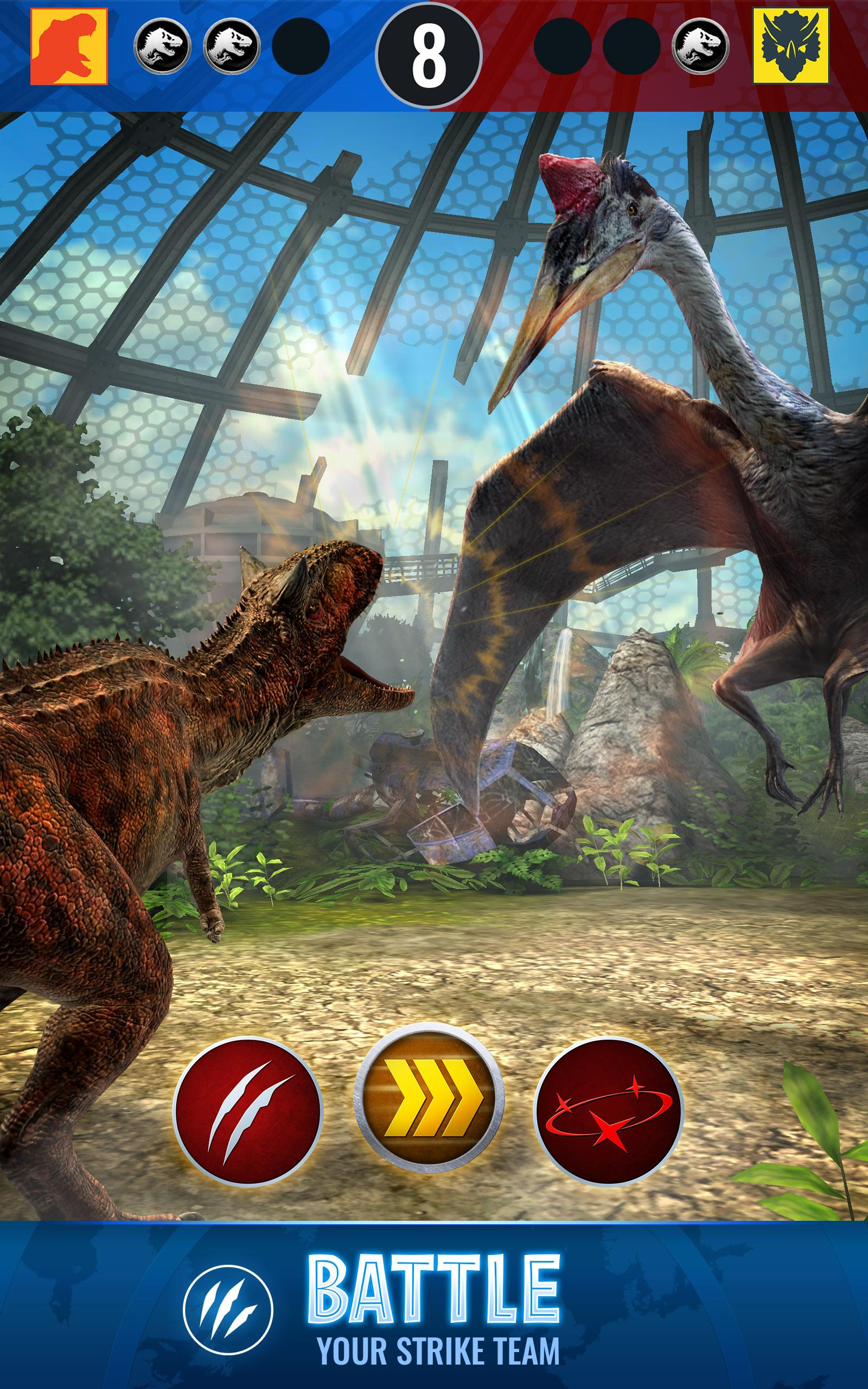 Download Jurassic World Alive on PC with BlueStacks