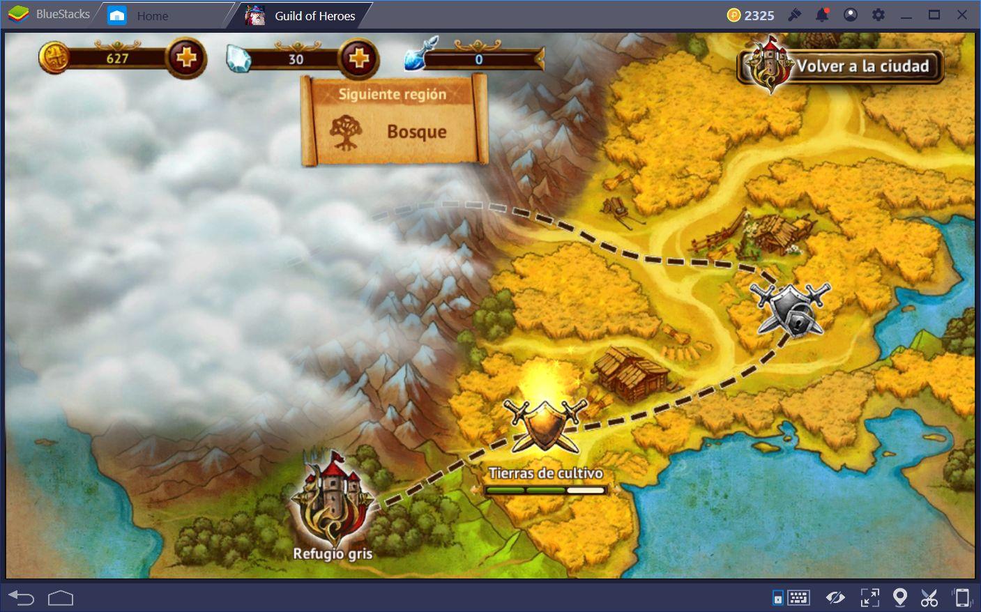 Comenzando Tu Aventura en Guild of Heroes