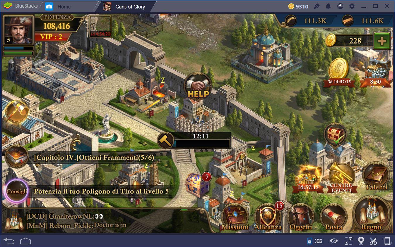 Guns of Glory: La Guida per i nuovi giocatori