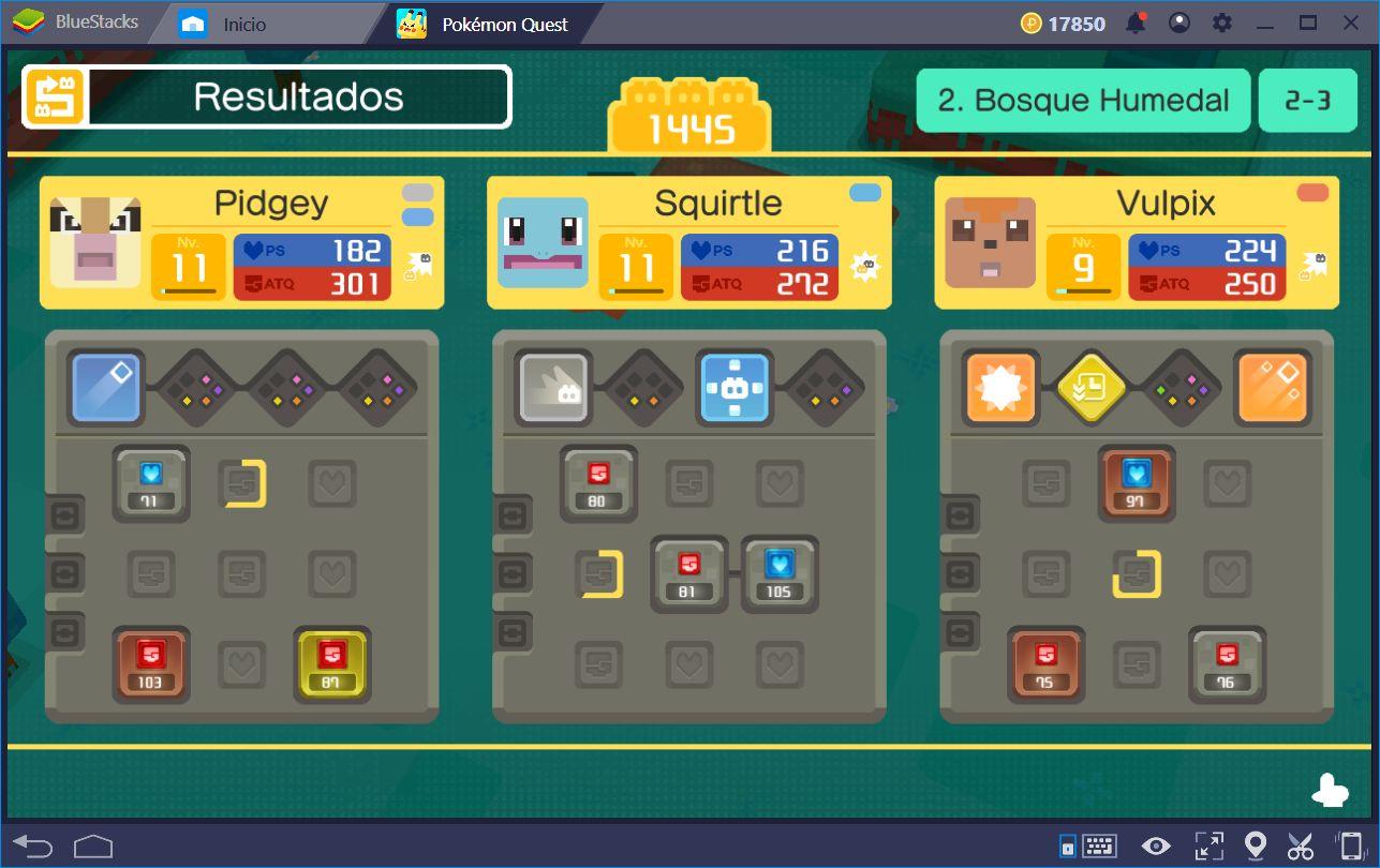 Guía de Optimización de Habilidades para Pokémon Quest