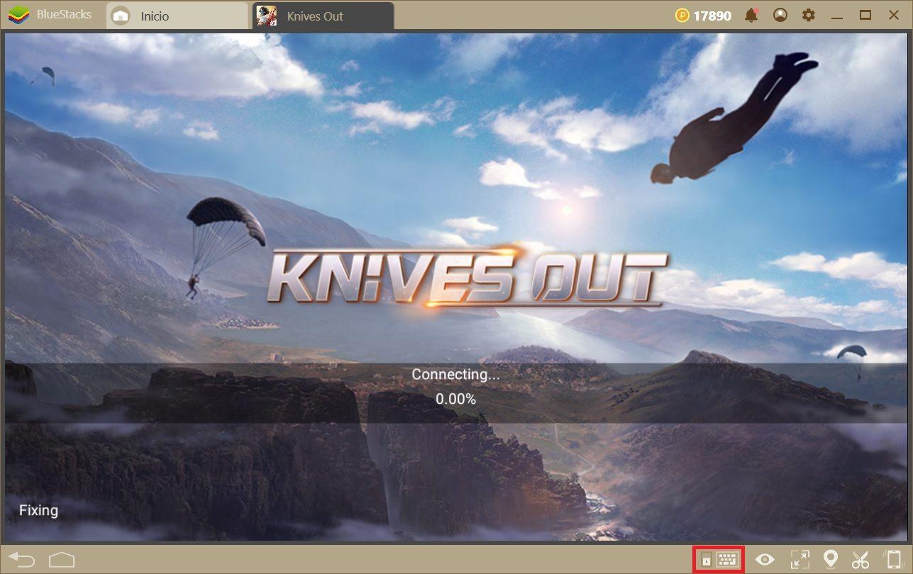 Cómo Configurar las teclas en Knives Out Usando el Nuevo BlueStacks