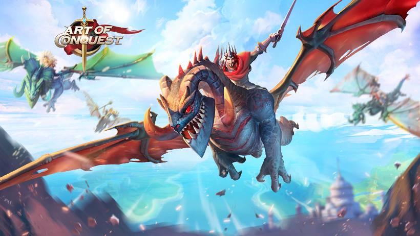 Art of Conquest: гайд по драконам