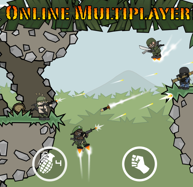 Download Doodle Army 2 : Mini Militia on PC with BlueStacks