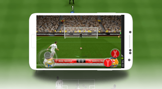Chơi Pes Soccer Mobile 2017 on PC 4