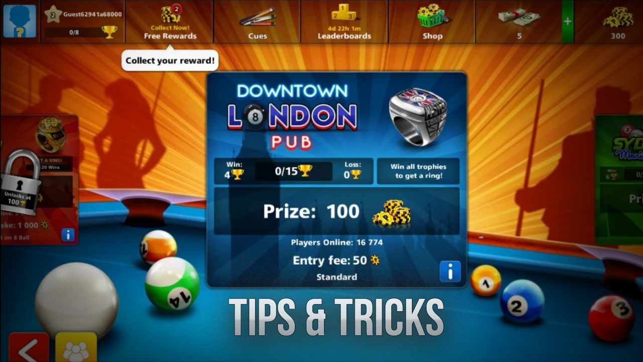 Tips And Tricks For Becoming A Master Pooler In 8 Ball Pool