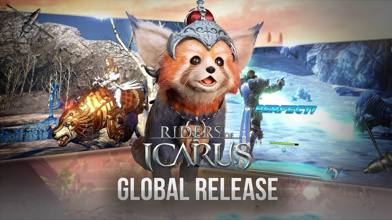 Icarus M: Riders of Icarus to Release in the West Soon. Pre-Registrations for the CBT Currently Open