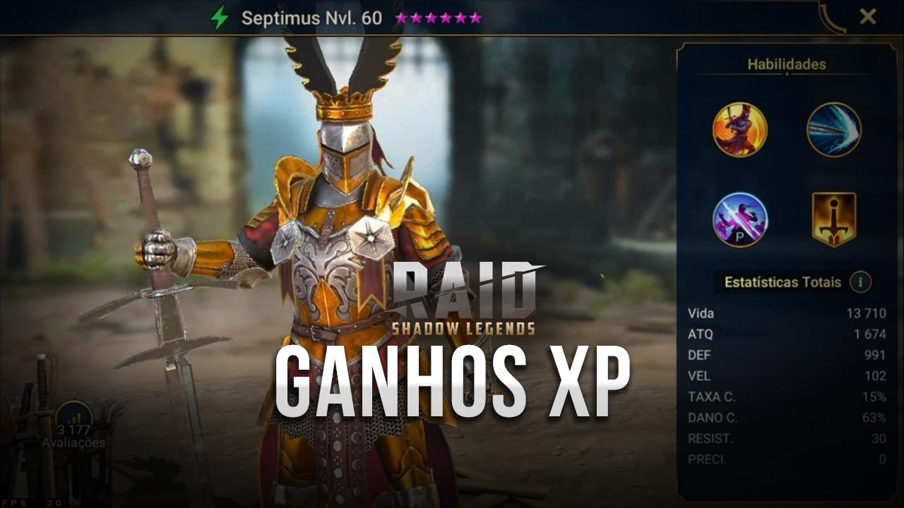 Como maximizar seus ganhos de XP e itens raros em RAID: Shadow Legends