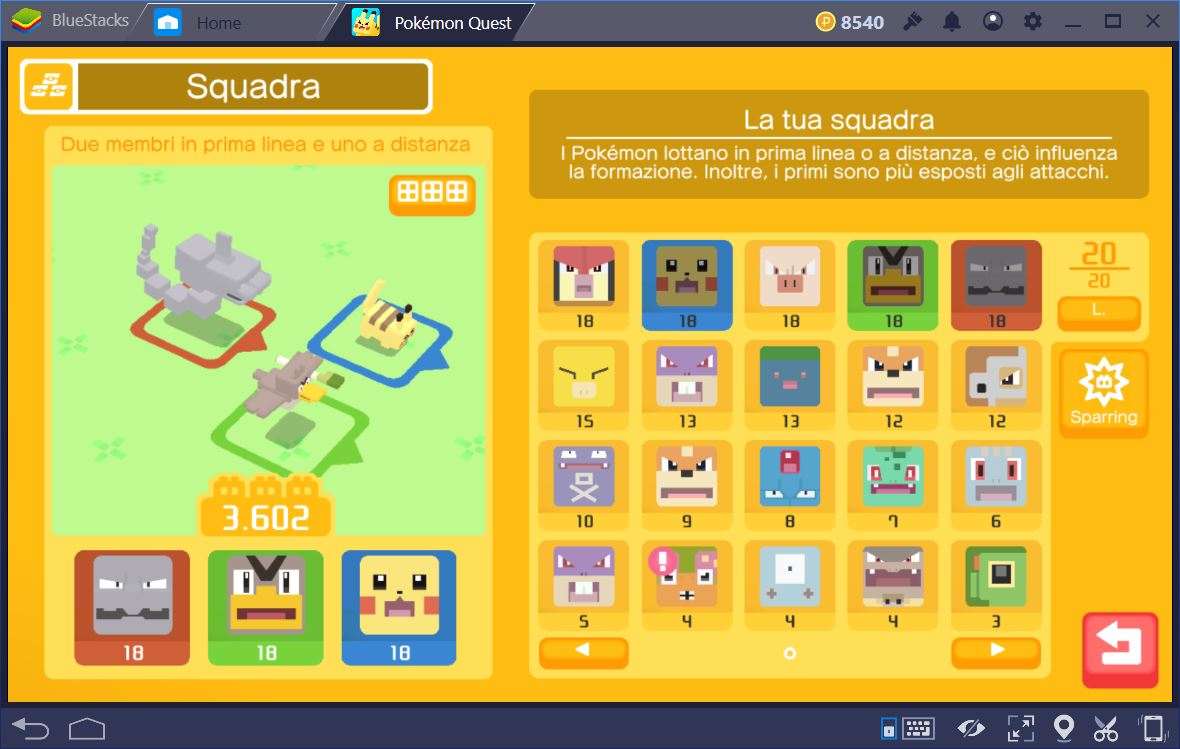 Pokémon Quest: Trucchi e Consigli